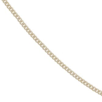 9ct Yellow Gold 16 Inch Curb Chain - Product number 4467345