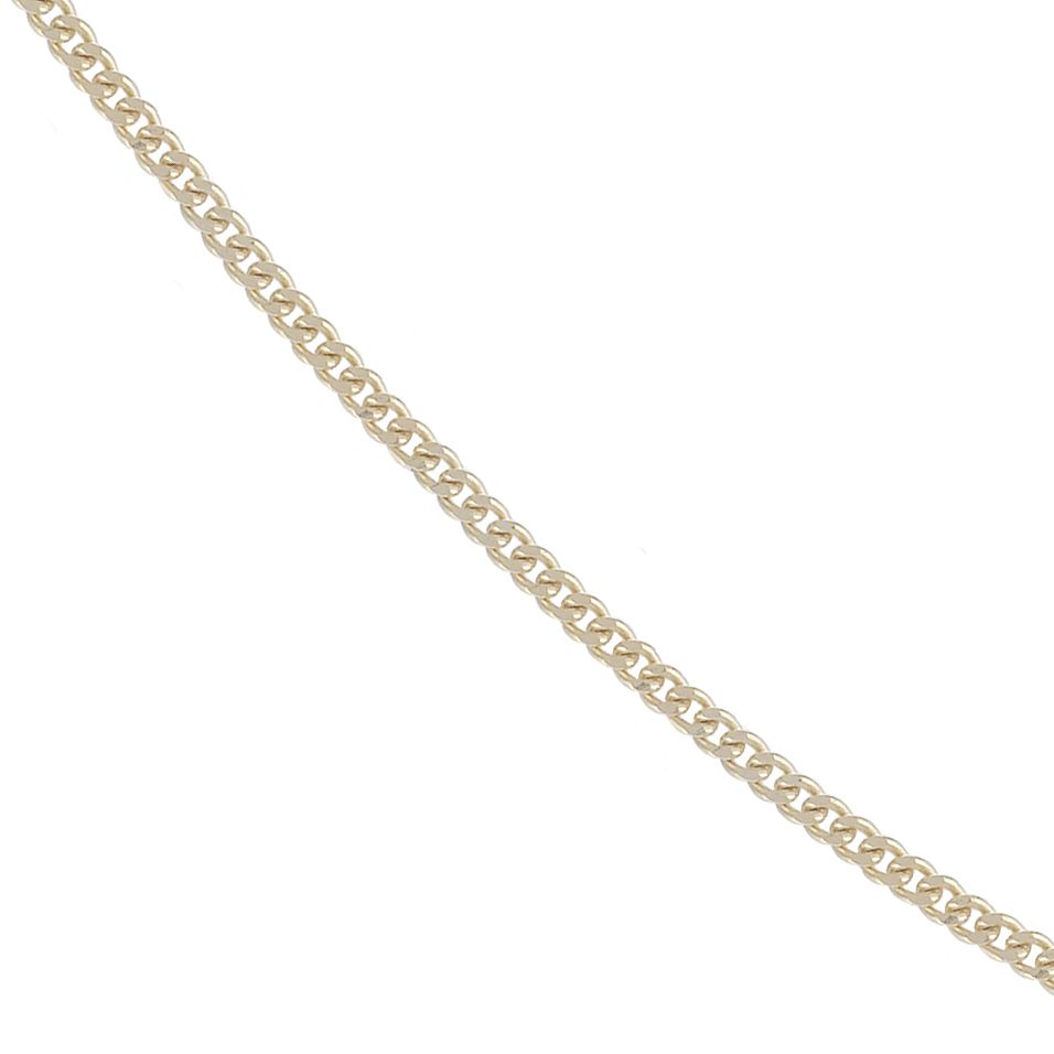 9ct Yellow Gold 18 Inch Curb Chain - Product number 4467361