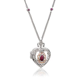 Clogau The Two Queens Ruby Locket - Product number 4467787