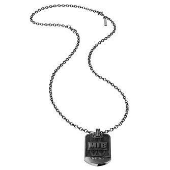 Police Men In Black Stainless Steel Pendant - Product number 4468562