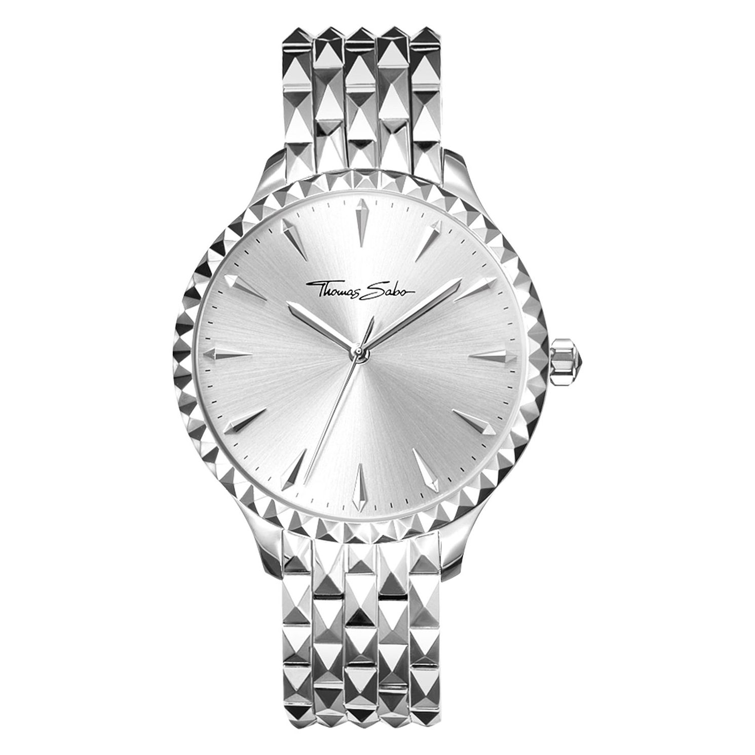 Thomas Sabo Rebel Stud Ladies Stainless Steel Bracelet Watch - Product number 4469135