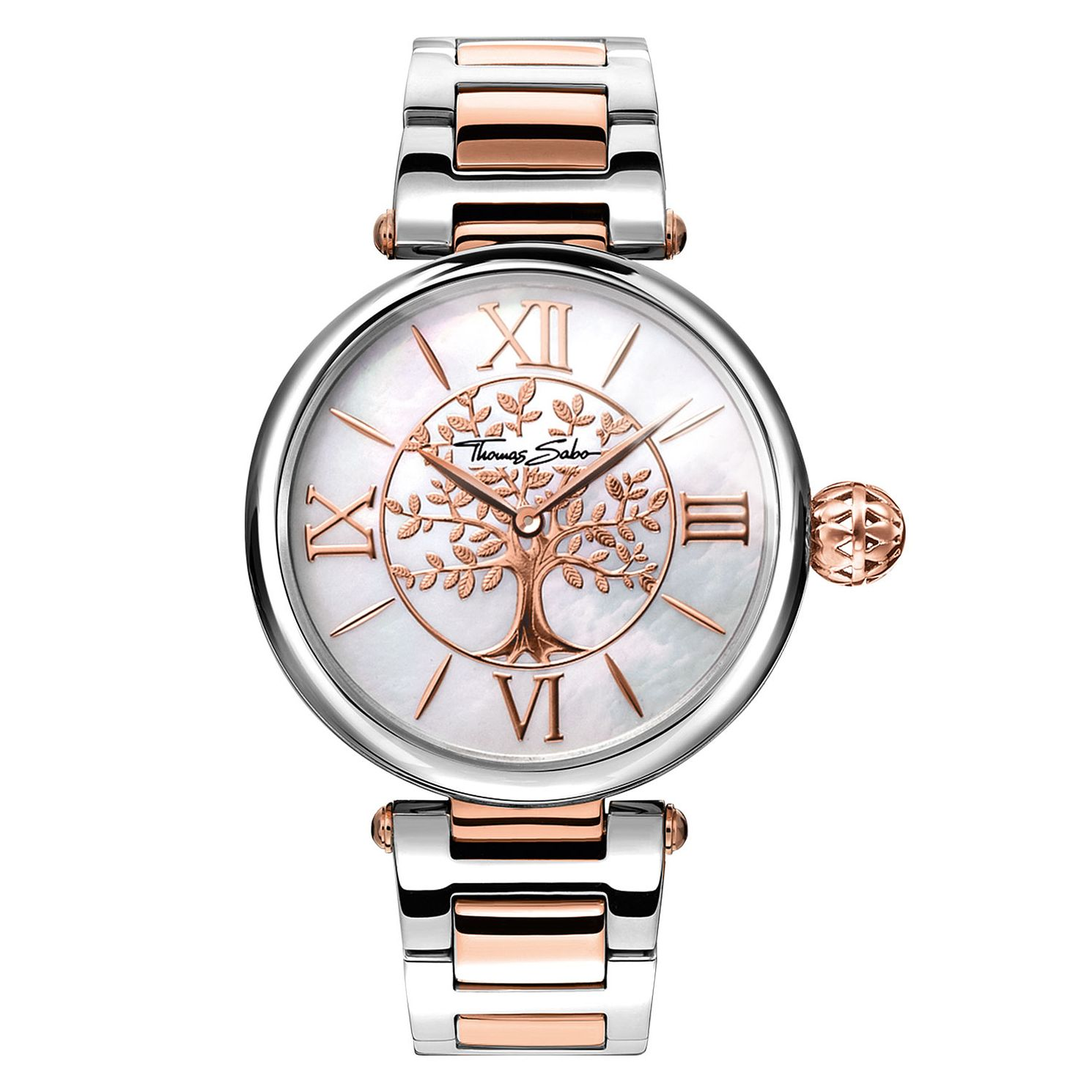 Thomas Sabo Karma Tree Ladies' Two Colour Bracelet Watch - Product number 4469356