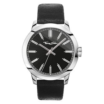 Thomas Sabo Rebel At Heart Men's Black Strap Watch - Product number 4469399