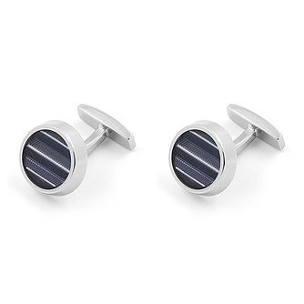 BOSS Kay Bluestripe Brass Cufflinks - Product number 4469968