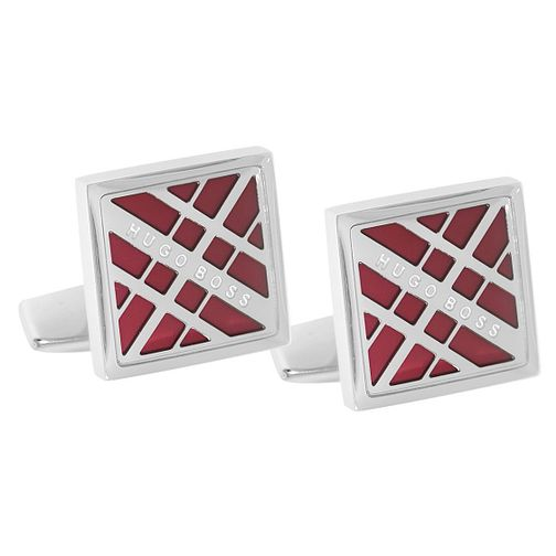 BOSS Cole Men's Brass Red Cufflinks - Product number 4470125