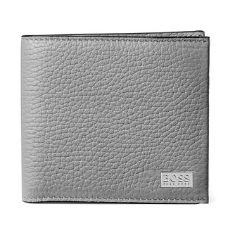 BOSS Crosstown Men's Grey Leather Wallet - Product number 4470222