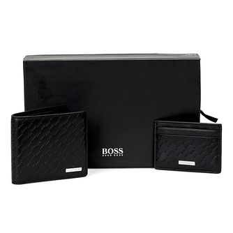 Hugo Boss Leather Wallet and Cardholder Gift Set - Product number 4470354