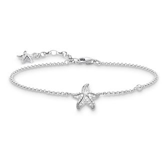 Thomas Sabo Glam Ladies' Stone Set Starfish Bracelet - Product number 4471121