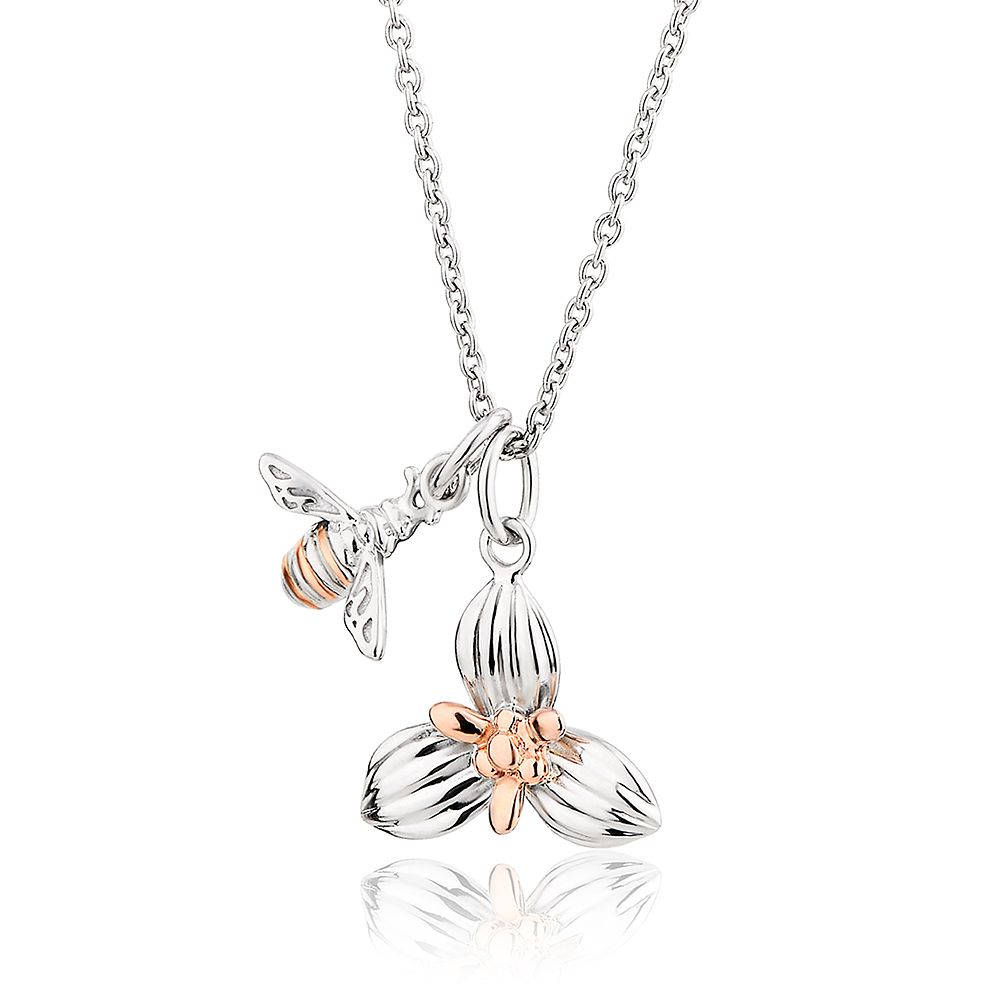 Clogau Honey Bee Orchid Pendant - Product number 4473531