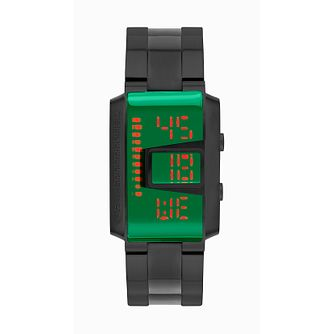 Storm Men's Green Dial Slate Stainless Steel Bracelet Watch - Product number 4476433