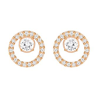 e747df2af Swarovski Creativity Rose Gold Plated Circle Small Earring - Product number  4476506