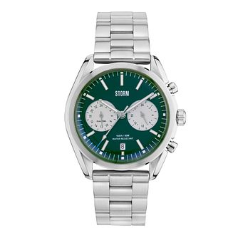 abefdf6c8f947 Storm Men s Round Green Dial Stainless Steel Bracelet Watch - Product  number 4477677