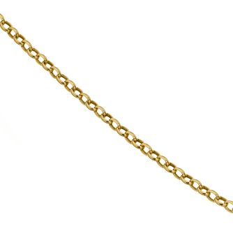 9ct Yellow Gold 18 Inch Belcher Chain - Product number 4486005