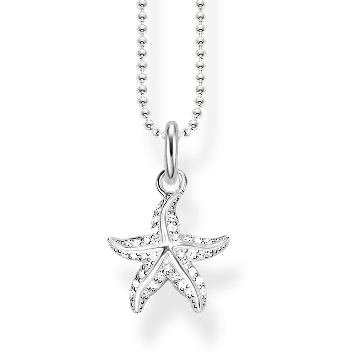 Thomas Sabo Glam Ladies' Stone Set Starfish Pendant - Product number 4491521