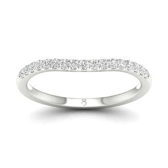 The Diamond Story 18ct White Gold 0.15ct Diamond Ring - Product number 4493613