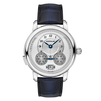 Montblanc Nicolas Rieussec Men's Black Leather Strap Watch - Product number 4495896