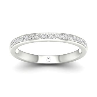 The Diamond Story 18ct White Gold 0.15ct Diamond Ring - Product number 4495950