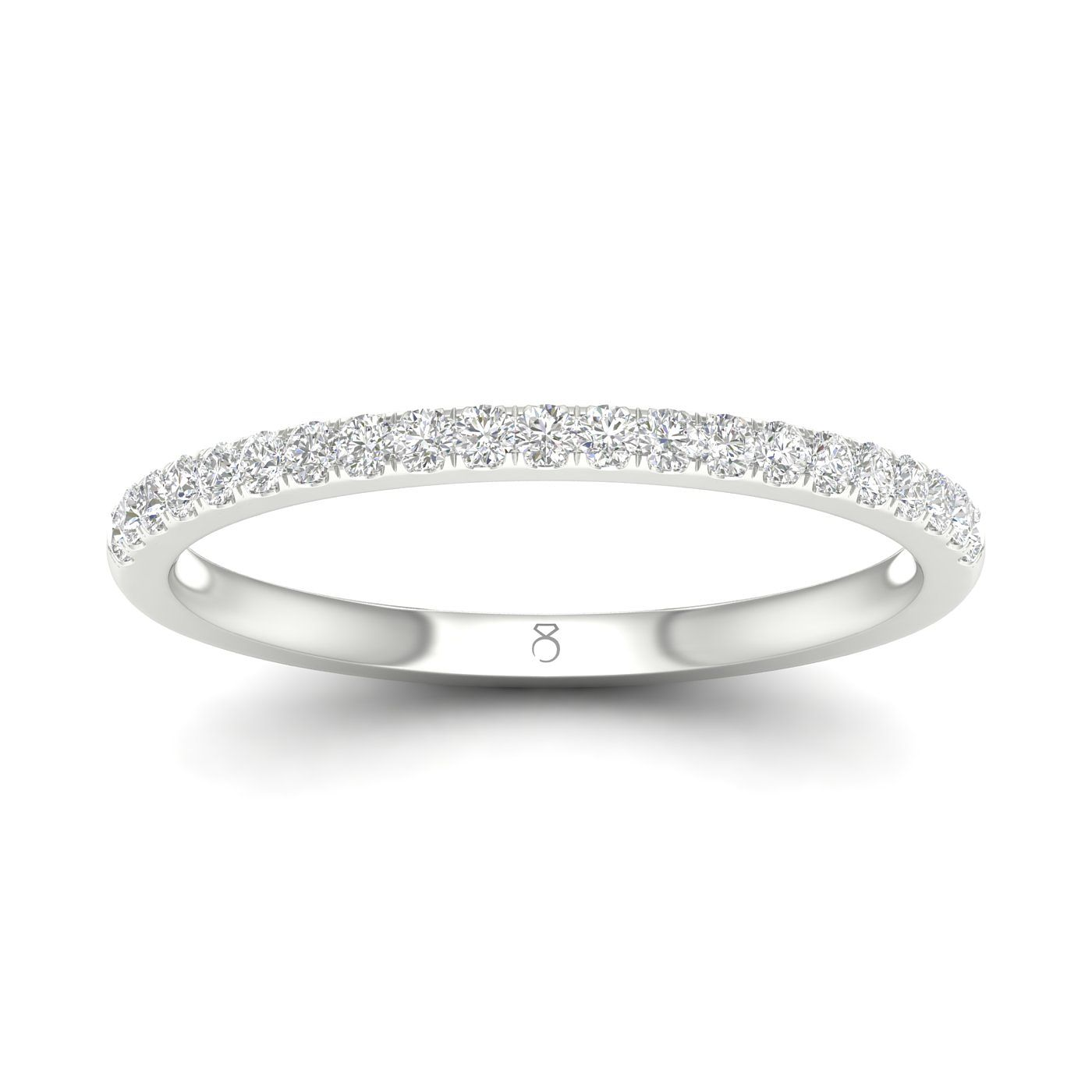 The Diamond Story 18ct White Gold 0.15ct Diamond Ring - Product number 4496248
