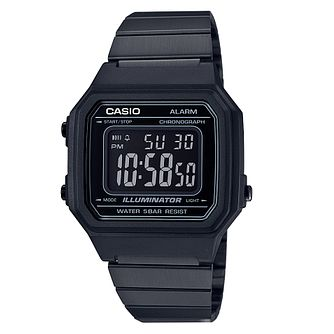 Casio Illuminator Men's Black Resin Strap Digital Watch - Product number 4503171