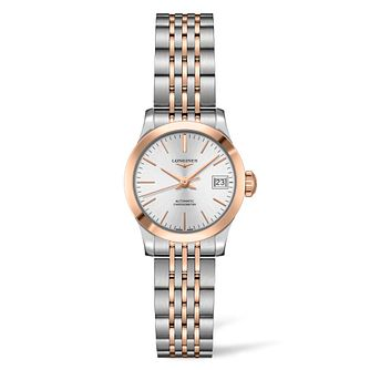 Longines Record Ladies' Two Tone Bracelet Watch - Product number 4503406