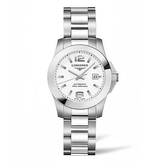 Longines Conquest Ladies' Stainless Steel Bracelet Watch - Product number 4503457