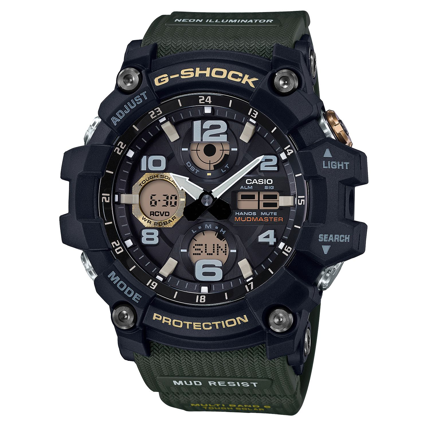 Casio G-Shock Men's Mudmaster Shock Resistant Watch - Product number 4503538