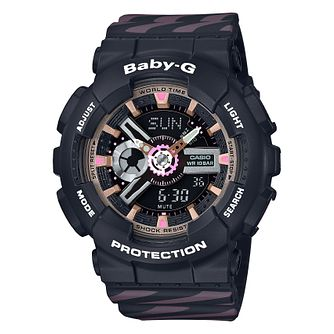 Casio Baby-G Ladies' Shock Resistant Black Strap Watch - Product number 4503546
