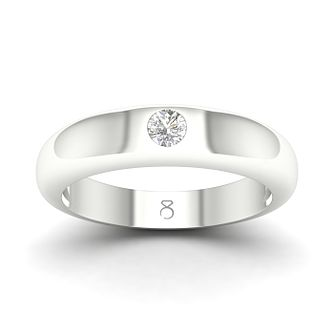 The Diamond Story 18ct White Gold 0.18ct Diamond Ring - Product number 4504291