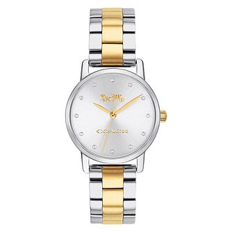 Coach Grand Ladies' Two Colour Bracelet Watch - Product number 4505638