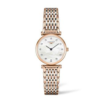 Longines La Grande Classique Ladies' Diamond Two-Tone Watch - Product number 4505697