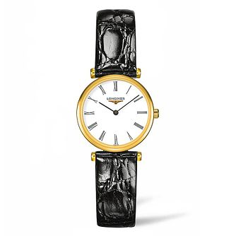 Longines La Grande Classique Ladies' Leather Strap Watch - Product number 4505867