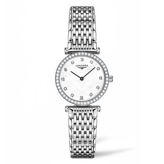 Longines La Grande Classique Ladies' Diamond Bracelet Watch - Product number 4505956