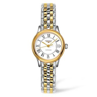 Longines Flagship Ladies' Two Tone Bracelet Watch - Product number 4506022