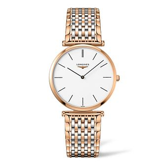 Longines La Grande Classique Ladies' Two Tone Bracelet Watch - Product number 4506545