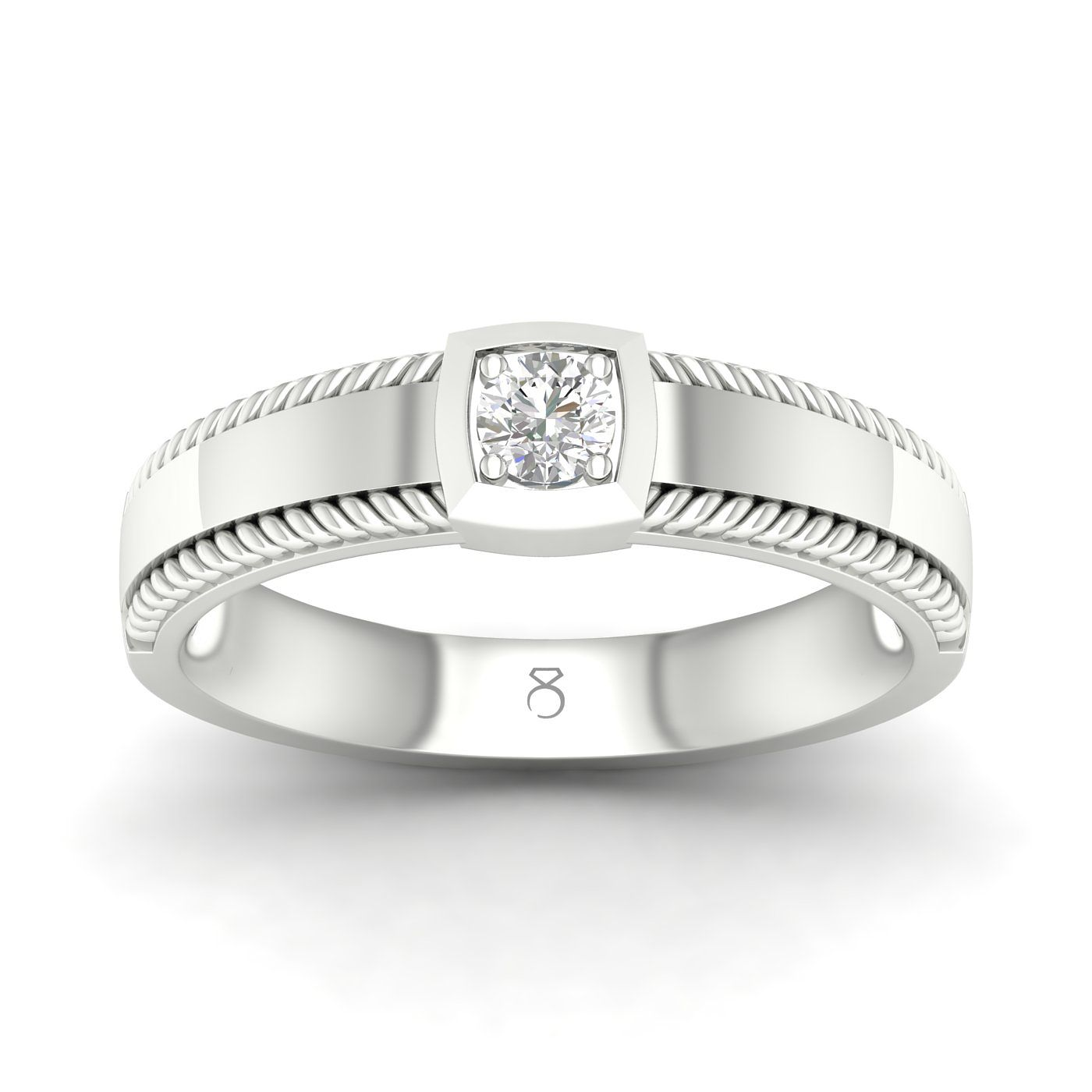 The Diamond Story 18ct White Gold 0.18ct Diamond Ring - Product number 4506677