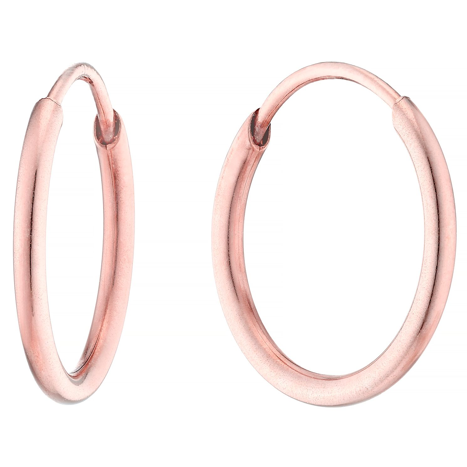 9ct Rose Gold 10mm Sleeper - Product number 4506855