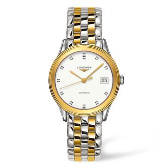Longines Flagship Ladies' Diamond Two Tone Bracelet Watch - Product number 4506936