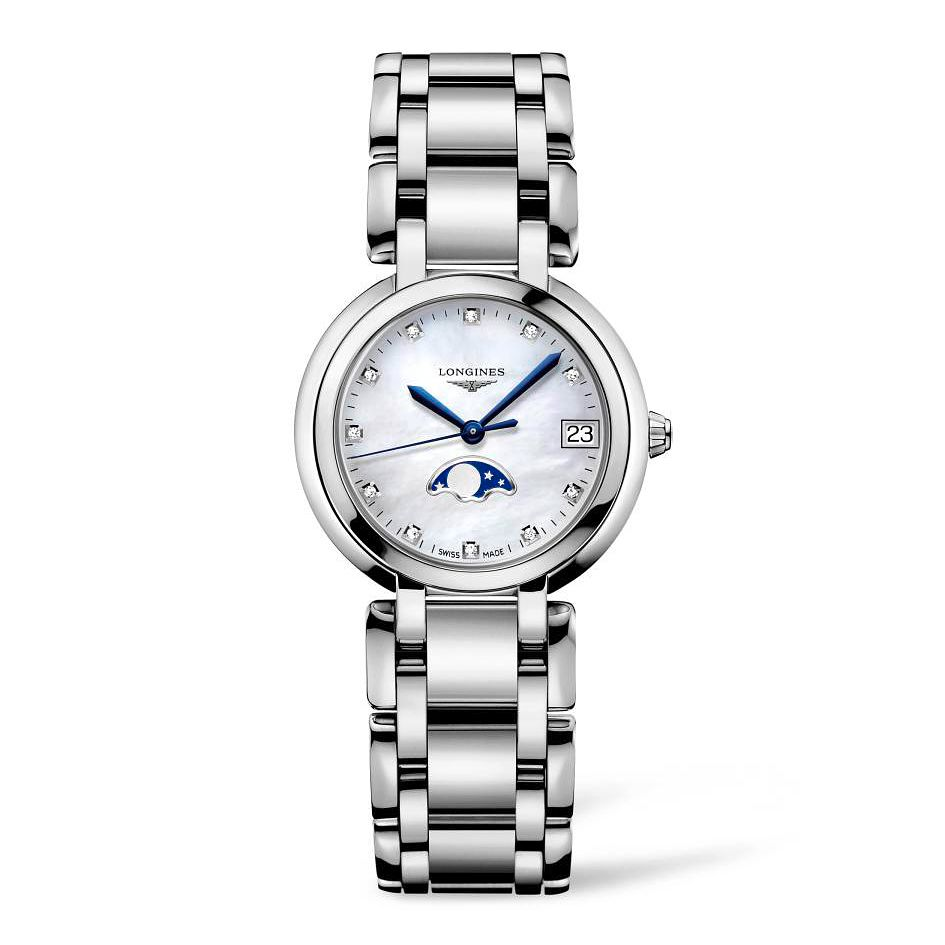 Longines Primaluna Ladies' Moonphase Bracelet Watch - Product number 4507142