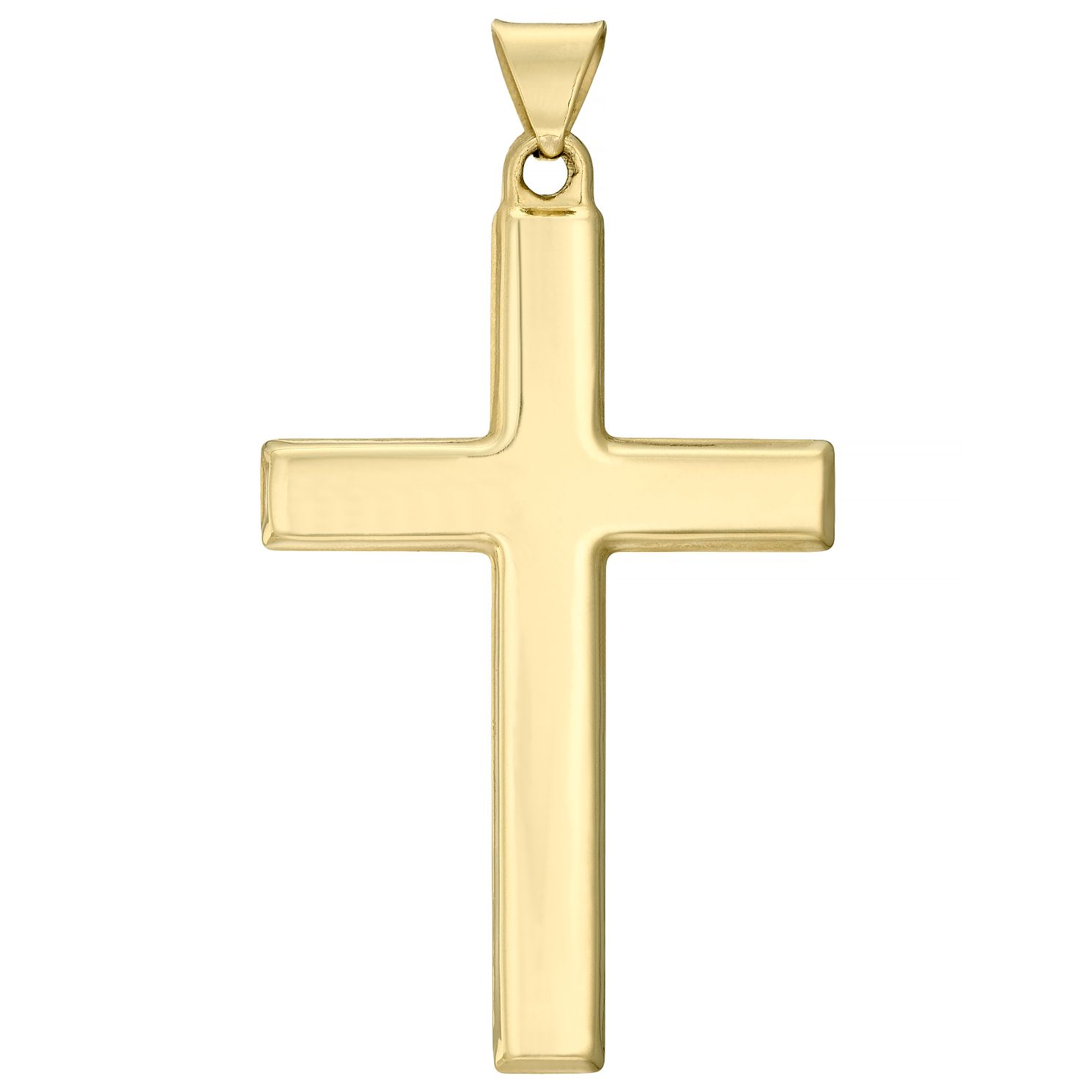 9ct Yellow Gold Cross (No Chain) - Product number 4508947