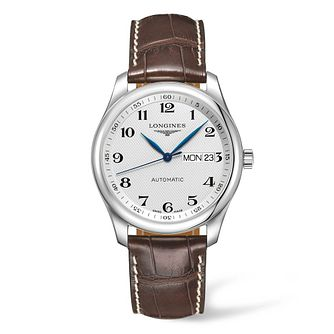 Longines Master Collection Men's Brown Leather Strap Watch - Product number 4509005
