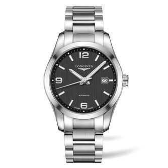 Longines Conquest Men's Stainless Steel Bracelet Watch - Product number 4509307