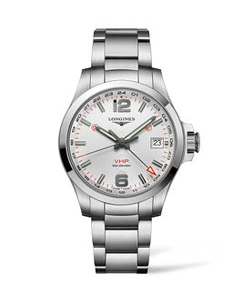 Longines Conquest V.H.P Men's Stainless Steel Bracelet Watch - Product number 4509676