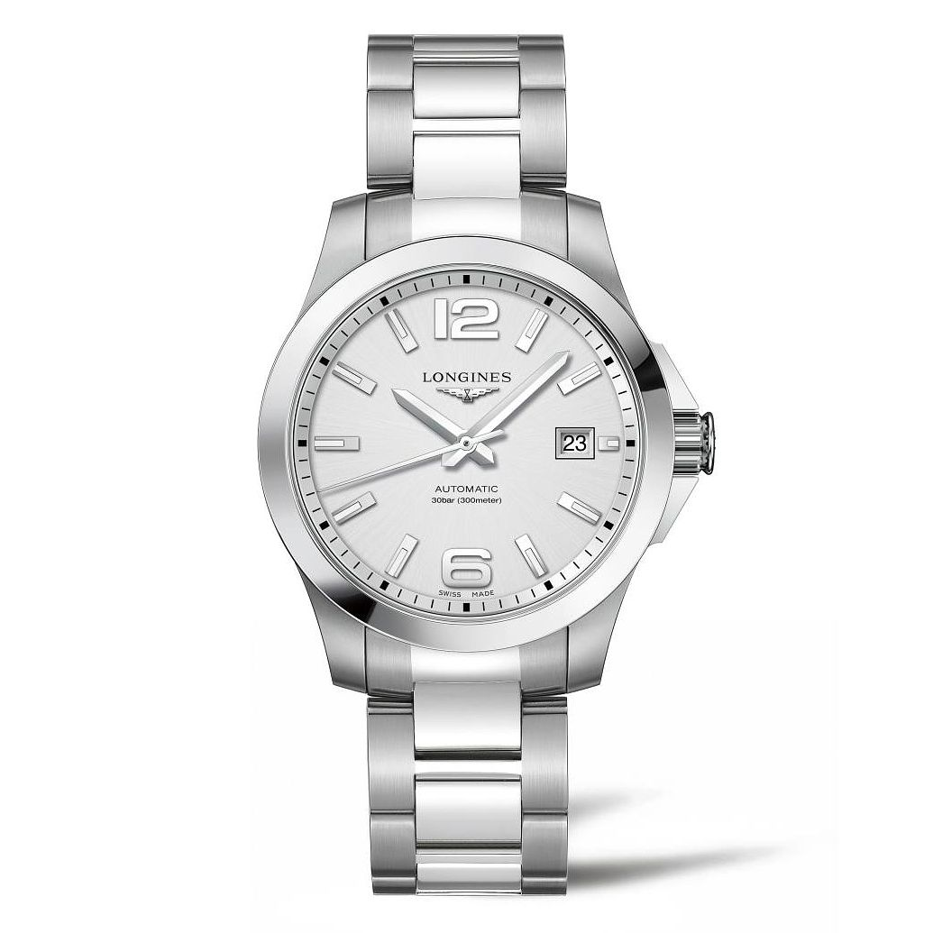 Longines Conquest Men's Stainless Steel Bracelet Watch - Product number 4510992