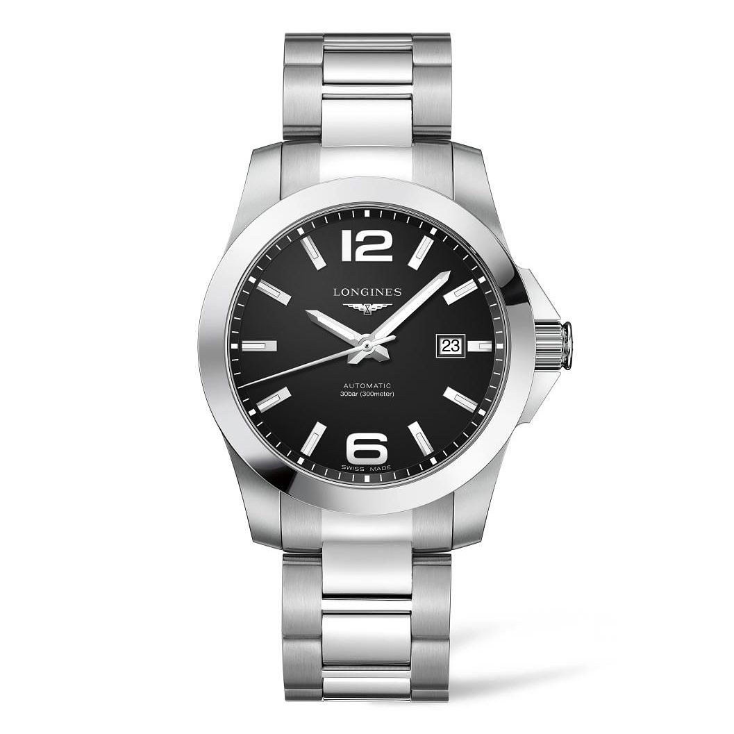Longines Conquest Men's Stainless Steel Bracelet Watch - Product number 4511018