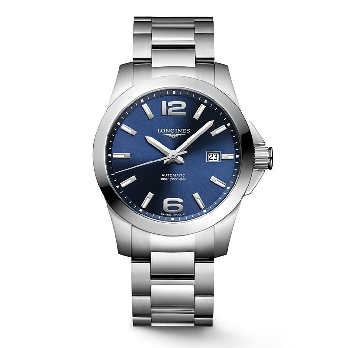 Longines Conquest Men's Stainless Steel Bracelet Watch - Product number 4511077