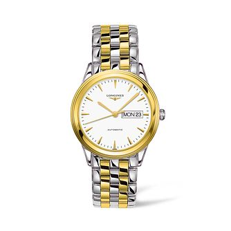 Longines Flagship Men's Two Tone Bracelet Watch - Product number 4511107