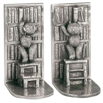 Royal Selangor Teddy Pewter Bookends - Product number 4511336