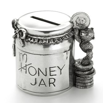 Royal Selangor pewter money box jar - Product number 4511387