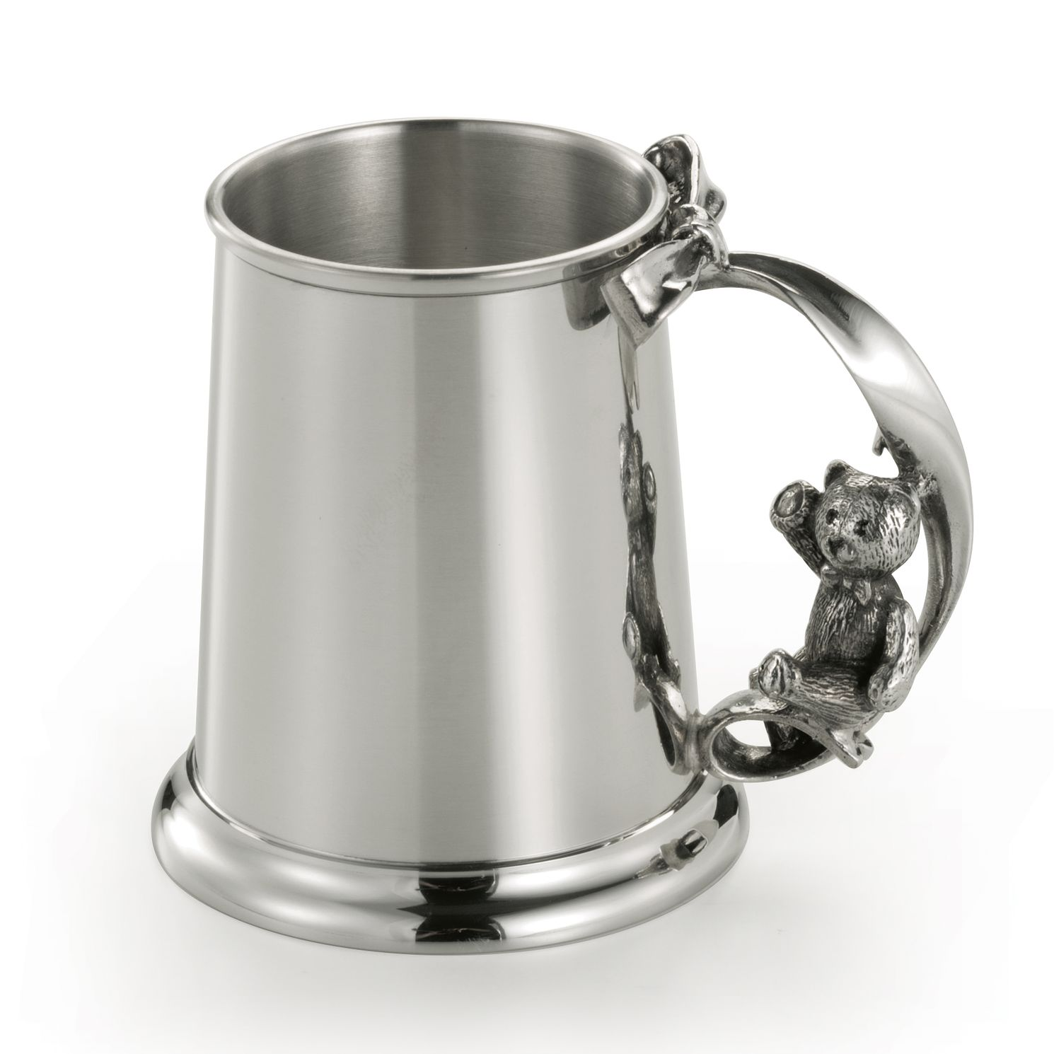 Royal Selangor Teddy Pewter Christening Baby Mug & Gift Box - Product number 4511395