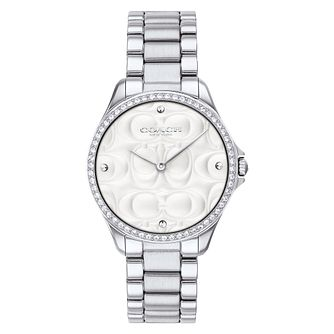Coach Mod Sport Ladies' Stone Set Bracelet Watch - Product number 4513703